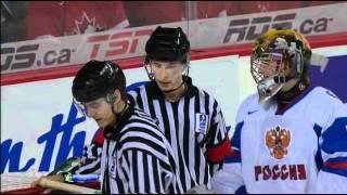 U 20 Полуфинал Канада - Россия 2012. Судьи убивают Россию.