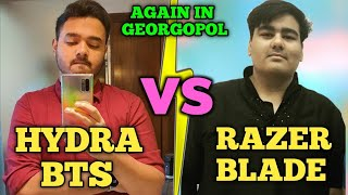 Razer Blade Team Vs Hydra BTS + Singha Gaming Intense Fight Georgopol | Pubg Emulator
