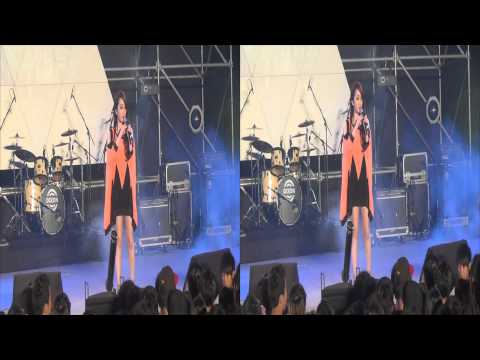20131110 朱俐靜 愛麗絲夢遊洛城 中正高中50th校慶 3D Ver.
