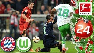 FC Bayern vs. Wolfsburg - Lewandowski's 5 Goals in 9 Minutes   FULL GAME 15/16   Advent Calendar 24