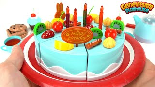 Let's Make our own Toy Birthday Cake!