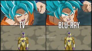 Dragon Ball Super: TV/Original VS Blu-Ray/DVD | Comparación y corrección | 2016-2017