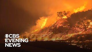 Over 100,000 evacuated in California wildfire