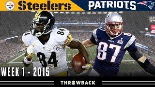 Gronk TAKES OVER Opening Night! (Steelers vs. Patriots, 2015 Week 1)