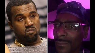 Kanye West responds to Snoop Dogg saying KiKi was Kim Kardashian and that Drake PIPED HER DOWN.