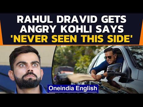 Rahul Dravid breaks stranger's car, shouts 'Indiranagar ka Gunda hun mai!'; Kohli reacts