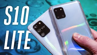 Galaxy S10 Lite and Note 10 Lite hands-on: but why?