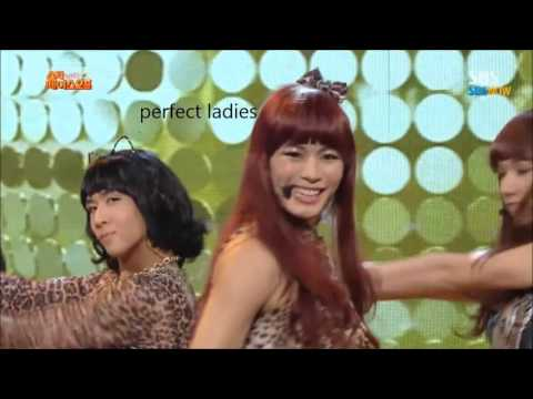 Kpop girl group dances 1 : Vixx~
