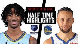 Grizzlies vs Warriors HIGHLIGHTS Halftime | NBA May 16
