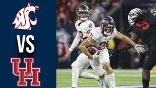 Weeek 3 College Football #20 Washington State vs Houston Full Game Highlights 9/13/2019