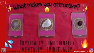 🔥 🥵  What makes you attractive?🥵 🔥 | PICK A CARD READING + WRITTEN MESSAGES ✍️