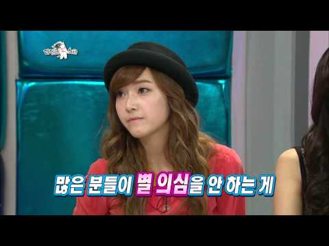 【TVPP】Jessica(SNSD) - Scandal with Ok Taec Yeon, 제시카(소녀시대) - 옥택연과의 열애설, 그 진실은? @ Radio Star