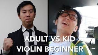 Adult vs Kid (Beginner) Music Students