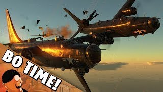 """War Thunder - PB4Y-2 Privateer """"Where Did My Tail Go?"""""""