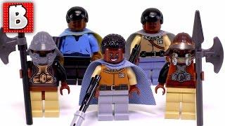Every LEGO Lando Calrissian Minfigure Ever Made!!! + Rare Cloud City Lando | Collection Review