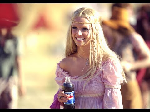 Britney Spears - Pepsi Generation (now&then) Commercial - True HD + Lyrics