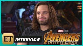 'Avengers: Infinity War': Sebastian Stan (FULL INTERVIEW)