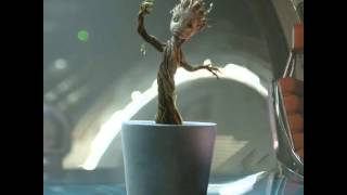 Music Video: Baby Groot Dancing to Jackson 5 - I Want You Back
