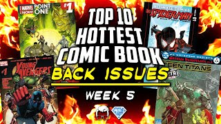 Record Breaking Back Issues | Top 10 Hottest Comic Book Back Issues | Week 5 ft. GemMintCollectibles