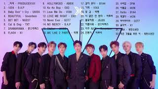 남자 아이돌 노래 모음 32곡 | KPOP BOY GROUP SONGS 32