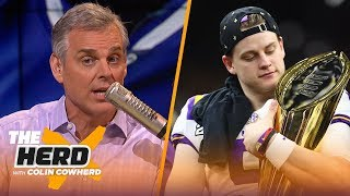 Burrow should 'pull an Eli' with Bengals, Colin thinks Diggs solves Pats' WR issues | NFL | THE HERD