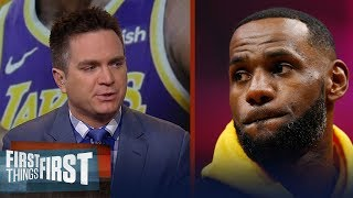 LeBron needs to be intimately involved in the recruiting process - Mannix | NBA | FIRST THINGS FIRST