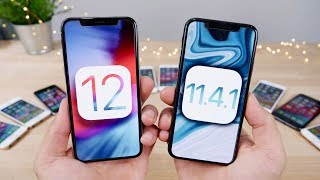 iOS 12 vs 11.4.1 FINAL Speed Test! Actually 2x Faster??