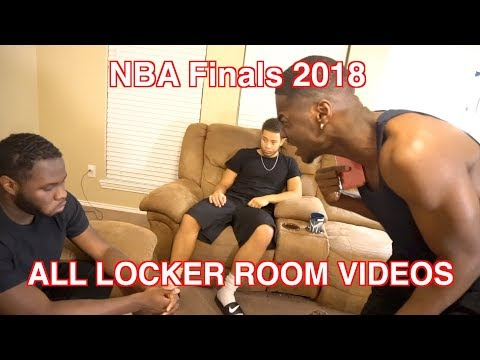 NBA FINALS 2018 ALL LEBRON IN THE LOCKER ROOM VIDEOS! (FULL VERSION FROM ORIGINAL CREATOR)