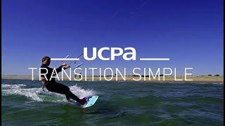 Tutoriel Kitesurf UCPA N°3 - Première glisse et navigation travers au vent