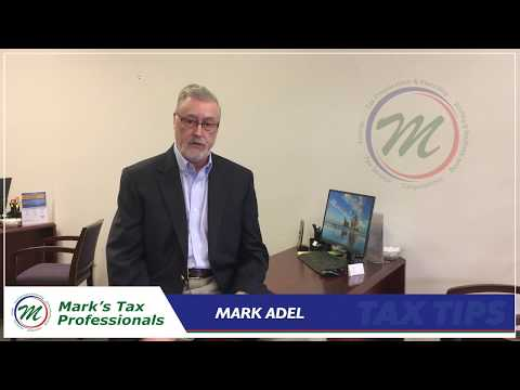 Mark Adel  Tax Tip - Itemize your Deductions