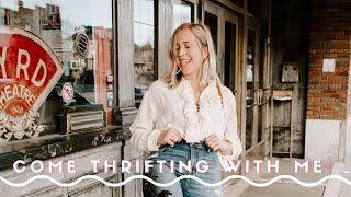 Come thrifting with me! + food photo prop haul