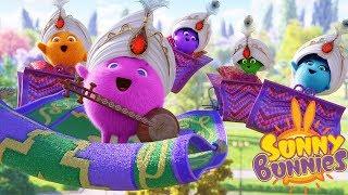 Cartoons for Children | SUNNY BUNNIES - THE MAGIC CARPET BAND | Funny Cartoons For Children