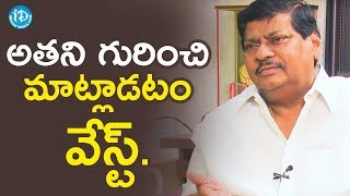 Let's ignore them: TDP MP Sivaprasad on RGV, Kathi Mahesh..