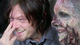 The Walking Dead   pranking Daryl / Norman Reedus (2014)