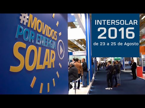 Blue Sol na Intersolar 2016: Gratidão