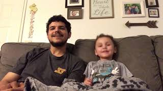 3 Year Old Leo Freestyle/Rapping