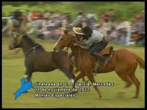 Montas Especiales en  la Fiesta de S. J. García, Mercedes, Prov. de Buenos Aires