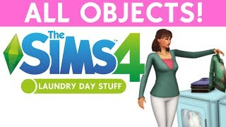 SIMS 4 LAUNDRY STUFF - ALL OBJECTS!