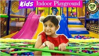 KIDS Fun Indoor/Outdoor PLAY GROUND   #Tingaland #PlayArea #MyMissAnand #ToyStars