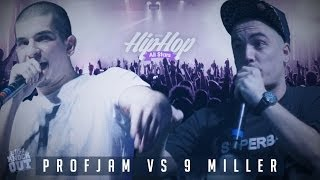 Liga Knock Out / EarBox Apresentam: ProfJam vs 9 Miller (Festival Hip-Hop All Stars)