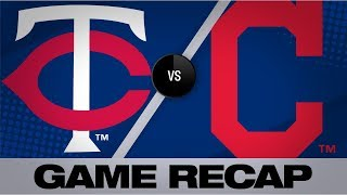 Polanco homers to propel Twins in Game 1 | Twins-Indians Game Highlights 9/14/19