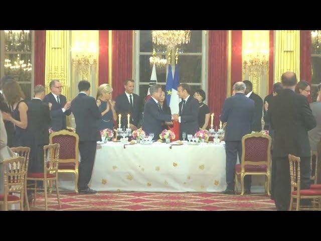 文在寅訪法國盼助北韓加速去核