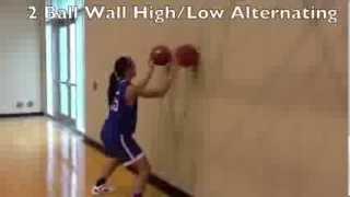 Tulsa Women's Basketball Individual Drills