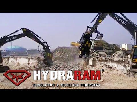 Hydraulic Pulverizer Hydraram HRP-28V