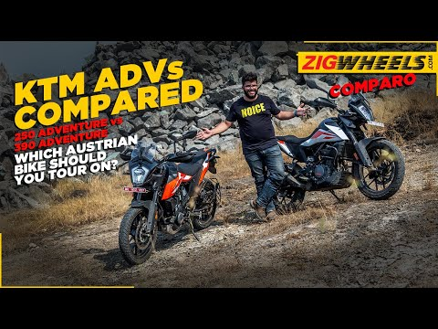 KTM 250 Adventure vs 390 Adventure Comparison   Which KTM Tourer To Buy?