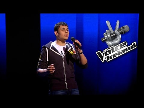 Michael Lawson - All Of Me - The Voice of Ireland - Blind Audition - Series 5 Ep6
