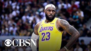 NBA's relationship with China frayed over Hong Kong protests