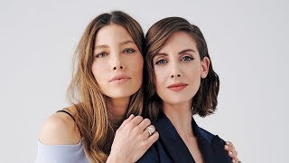 Alison Brie & Jessica Biel Full - Full Actors on Actors Discussion