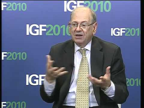 IGF 2010: Bob Kahn, on the present and future of Internet