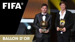 Messi wins a fourth, Sundhage sings